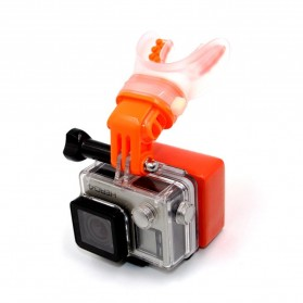 Telesin Teeth Mount Kamera Aksi GoPro Xiaomi - GP-MTM-001 - Orange - 2