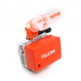 Telesin Teeth Mount Kamera Aksi GoPro Xiaomi - GP-MTM-001 - Orange - 3