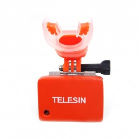 Telesin Teeth Mount Kamera Aksi GoPro Xiaomi - GP-MTM-001 - Orange - 4