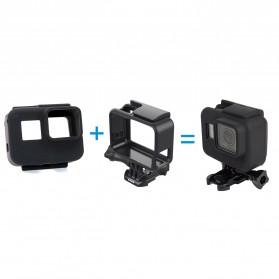 Telesin Silicone Frame Case Protector for GoPro Hero 5/6/7 - Black - 2