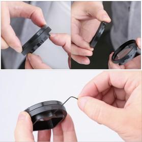 Telesin Lensa CPL Filter Lens Accessory for GoPro Hero 5/6/7 - Black - 6