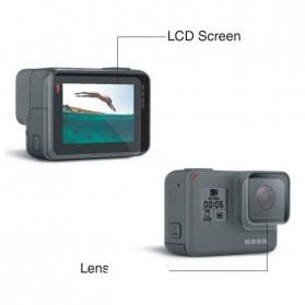 Telesin Tempered Glass Lens & LCD Screen 1 PCS for GoPro Hero 5/6/7 - Transparent - 3