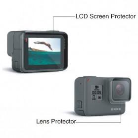 Telesin Lens & LCD Screen Protector 3 PCS for GoPro Hero 5/6/7 - Transparent - 3