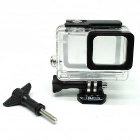 Telesin Underwater Waterproof Case 45m for GoPro Hero 5/6/7 - Black