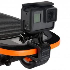 Telesin Skateboard Mount Holder Stand Clip - GP-HBM-HB6 - Black