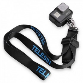 Telesin Neck Strap Hook for GoPro - Black