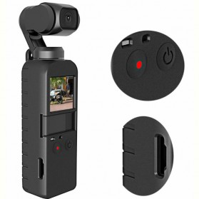Telesin Protective Silicone Case for DJI Osmo Pocket - OP-A403 - Black - 1