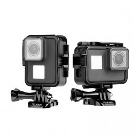 Telesin Vertical Frame Housing Case Bumper for GoPro Hero 5/6/7 - GP-FMS-007 - Black - 1