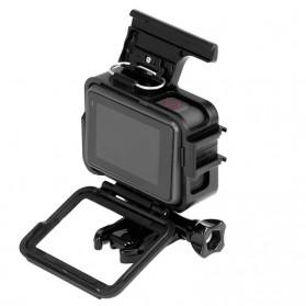 Telesin Vertical Frame Housing Case Bumper for GoPro Hero 5/6/7 - GP-FMS-007 - Black - 2