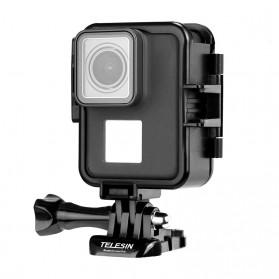 Telesin Vertical Frame Housing Case Bumper for GoPro Hero 5/6/7 - GP-FMS-007 - Black - 3