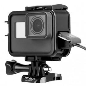 Telesin Vertical Frame Housing Case Bumper for GoPro Hero 5/6/7 - GP-FMS-007 - Black - 4