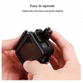 Telesin Vertical Frame Housing Case Bumper for GoPro Hero 5/6/7 - GP-FMS-007 - Black - 7