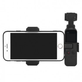 Telesin Smartphone Holder for DJI Osmo Pocket - OP-ZJ043 - Black
