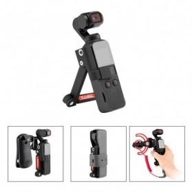 Telesin Koala Bracket Stand Holder Grip Case Multifungsi for DJI Osmo Pocket - OS-KLH-001 - Black - 2
