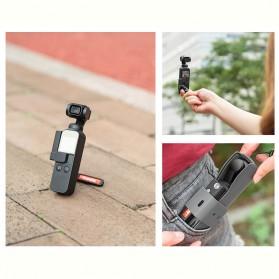 Telesin Koala Bracket Stand Holder Grip Case Multifungsi for DJI Osmo Pocket - OS-KLH-001 - Black - 3