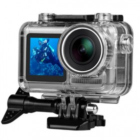 TELESIN Underwater Waterproof Housing Case For DJI Osmo Action- OS-WTP-002 - Transparent