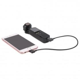 Telesin Kabel Data USB Type C to Lightning for DJI OSMO Pocket - OP-X9168 - Black