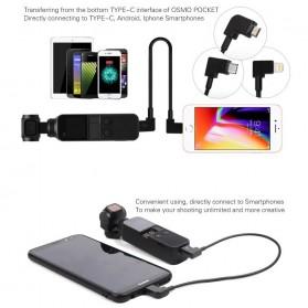 Telesin Kabel Data USB Type C to Micro USB for DJI OSMO Pocket - OP-X9169 - Black - 5