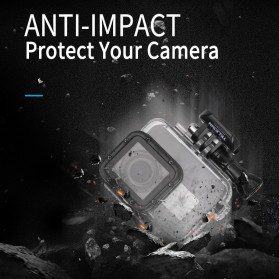 Telesin Waterproof Case Touchable Cover For GoPro Hero 5/6/7 - GP-WTP-504 - Transparent - 10