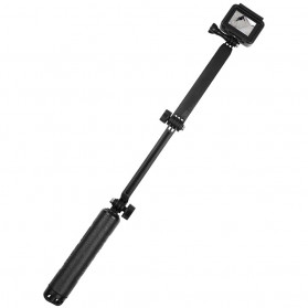 Telesin Tongsis Monopod 3 Way Foldable Selfie Stick - GP-MFW-300 - Black