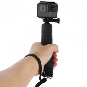 Telesin Tongsis Monopod 3 Way Foldable Selfie Stick - GP-MFW-300 - Black - 7