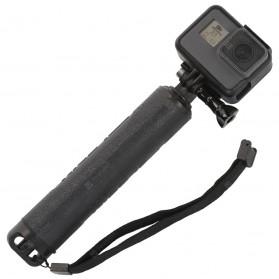 Telesin Tongsis Monopod 3 Way Foldable Selfie Stick - GP-MFW-300 - Black - 8