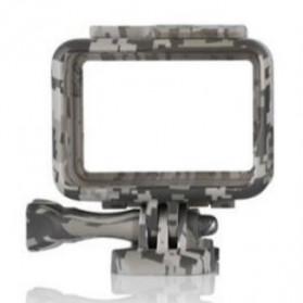 Telesin Frame Housing Case Bumper for GoPro Hero 5/6/7 - GP-FMS-006 - Camouflage - 3