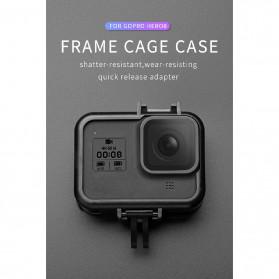 Telesin Frame Housing Case Bumper for GoPro Hero 8 - GP-FMS-801 - Black - 6