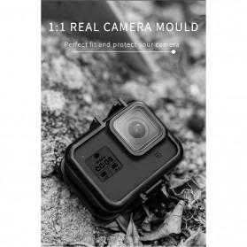 Telesin Frame Housing Case Bumper for GoPro Hero 8 - GP-FMS-801 - Black - 7