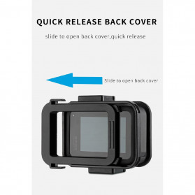 Telesin Frame Housing Case Bumper for GoPro Hero 8 - GP-FMS-801 - Black - 8