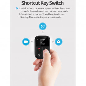 Telesin Smart WiFi Remote Control LCD for GoPro - GP-RMT-T02 - Black - 8
