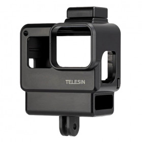 Telesin Protective Frame Case Vlogger for GoPro Hero 5/6/7 - GP-FMS-008 - Black