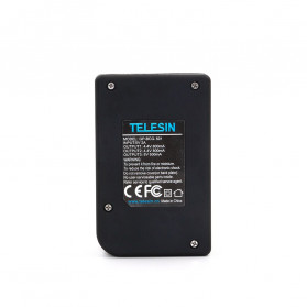 Telesin Charger Baterai 2 Slot + Charger WiFi Remote Control with 2xBattery for GoPro Hero 5/6/7 - GP-BnC-501 - Black - 4
