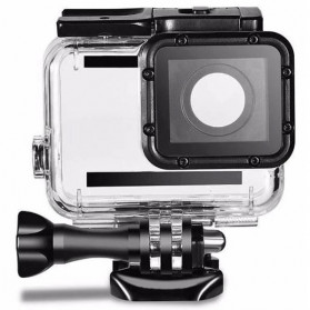 Telesin Underwater Waterproof Case 45m Removeable Lens Cap for GoPro Hero 5/6/7 - GP-WTP-501 - Black