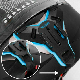 Telesin Motorcycle Helmet Chin Mount for Gopro - GP-HBM-MT7 - Black - 5