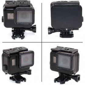 Telesin Waterproof Case Touchable Cover For GoPro Hero 5/6/7 - GP-WTP-503 - Black - 2