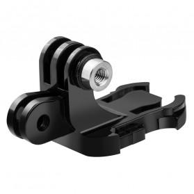 Telesin Dual Mount J Hook Adapter for GoPro - GP-MTB-T02 - Black - 3