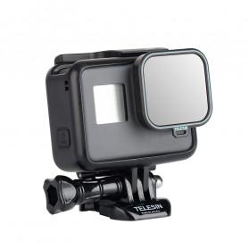 Telesin Lensa Neutral Density ND Filter Lens ND4 ND8 ND16 3 PCS for GoPro Hero 5/6/7 - GP-FLT-ND1 - Black - 2
