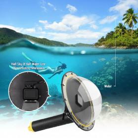 Telesin Dome Port Underwater 6 Inch Acrylic Base for GoPro Hero 8 - GP-DMP-T08 - Yellow - 4