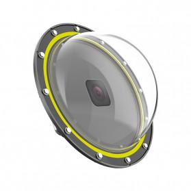 Telesin Dome Port Underwater 6 Inch Acrylic Base for GoPro Hero 8 - GP-DMP-T08 - Yellow - 6