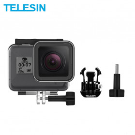 Telesin Underwater Waterproof Case 45m for GoPro Hero 8 - GP-WTP-801 - Black