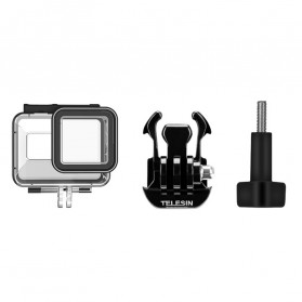Telesin Underwater Waterproof Case 45m for GoPro Hero 8 - GP-WTP-801 - Black - 6