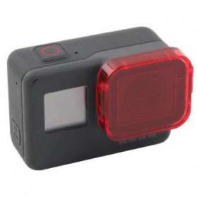 Telesin Lensa Red Diving Filter Lens for GoPro Hero 5/6/7 - GP-FLT-501 - Red - 1