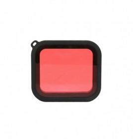 Telesin Lensa Red Diving Filter Lens for GoPro Hero 5/6/7 Case GP-WTP-501 - GP-FLT-502 - Red - 4