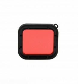 Telesin Lensa Red Diving Filter Lens for GoPro Hero 5/6/7 Case GP-WTP-501 - GP-FLT-502 - Red - 5
