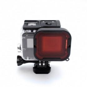 Telesin Lensa Red Diving Filter Lens for GoPro Hero 5/6/7 Super Suit Case - GP-FLT-504 - Red - 3