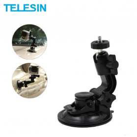 Telesin Car Windshield Suction Mount for GoPro - GP-SUC-003 - Black - 1