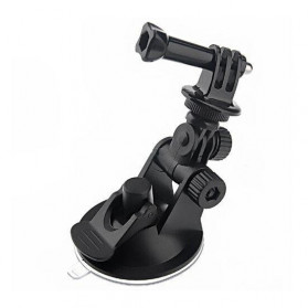 Telesin Car Windshield Suction Mount with Frame Case for GoPro 4/3/3+ - GP-SUC-004 - Black - 2
