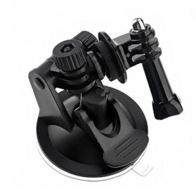 Telesin Car Windshield Suction Mount with Frame Case for GoPro 4/3/3+ - GP-SUC-004 - Black - 3