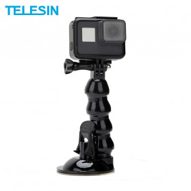 Telesin Jaws Flex Suction Mount for GoPro - GP-SUC-006 - Black
